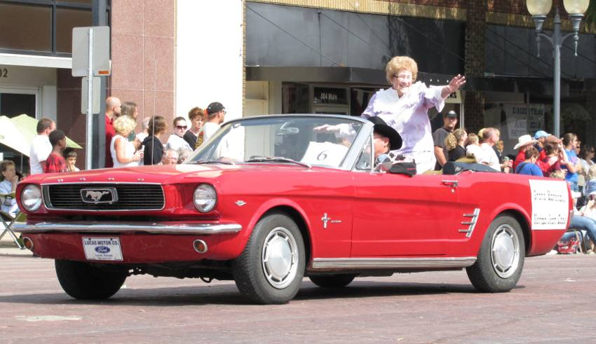 Grand Marshall Norma Jean Cook