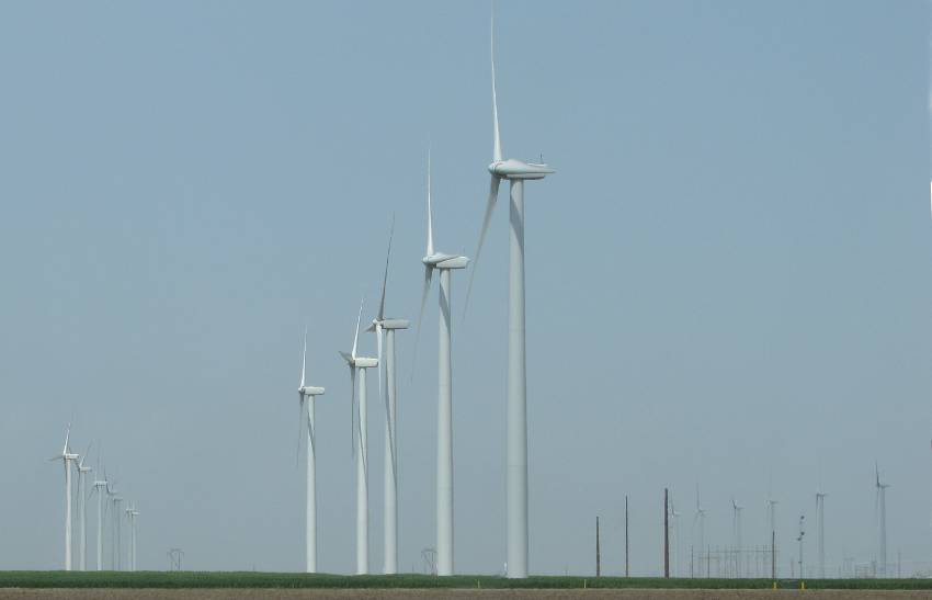 Spearville wind turbines