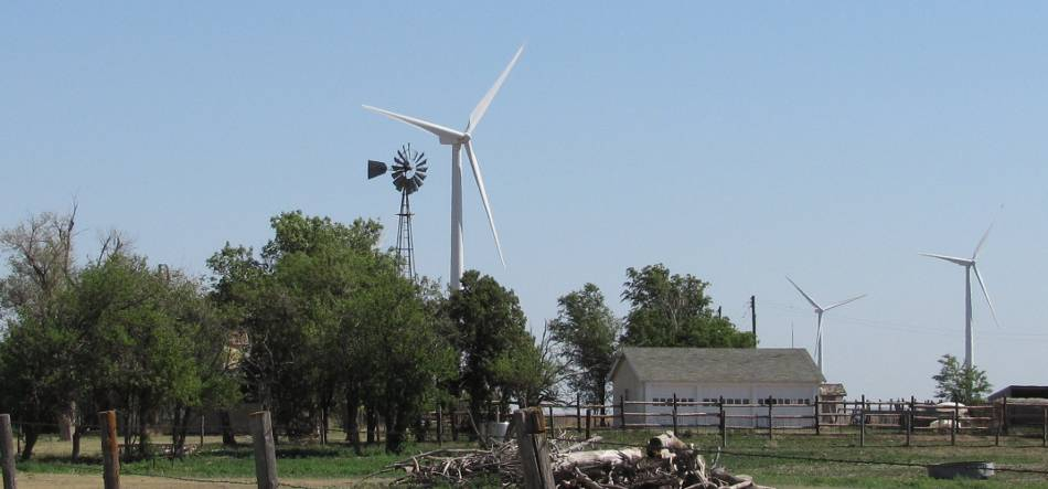 windmill and wind power