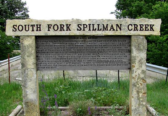 South Fork Spillman Creek Double Arch Bridge - Lincoln County, Kansas