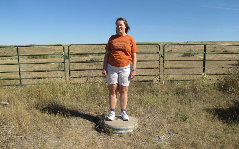 Standing in three states at once