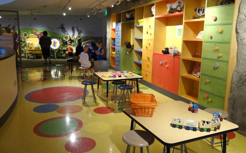 Stepping into the Prairie children's learning area
