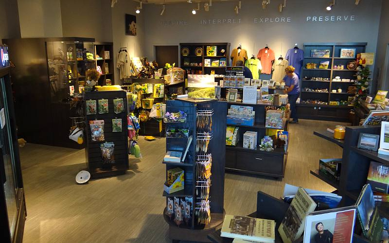 Flint Hills Discovery Center gift store - Manhattan, Kansas