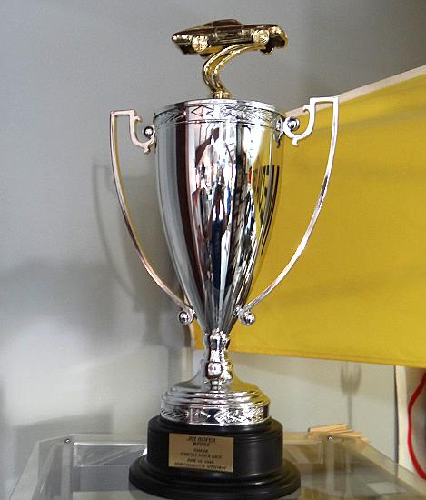 First ever NASCAR trophy