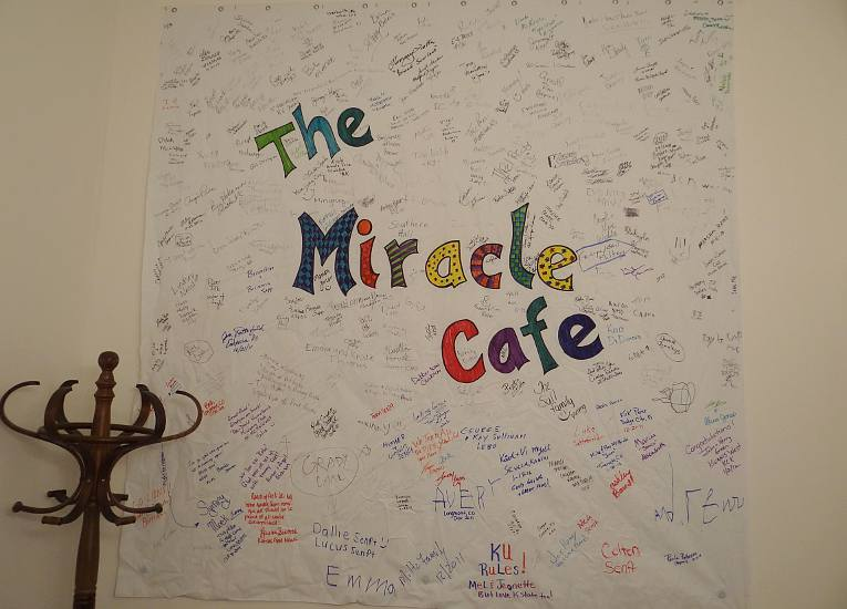 The Miracle Cafe banner