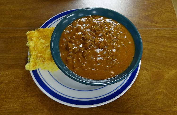 chili at The Miracle Cafe