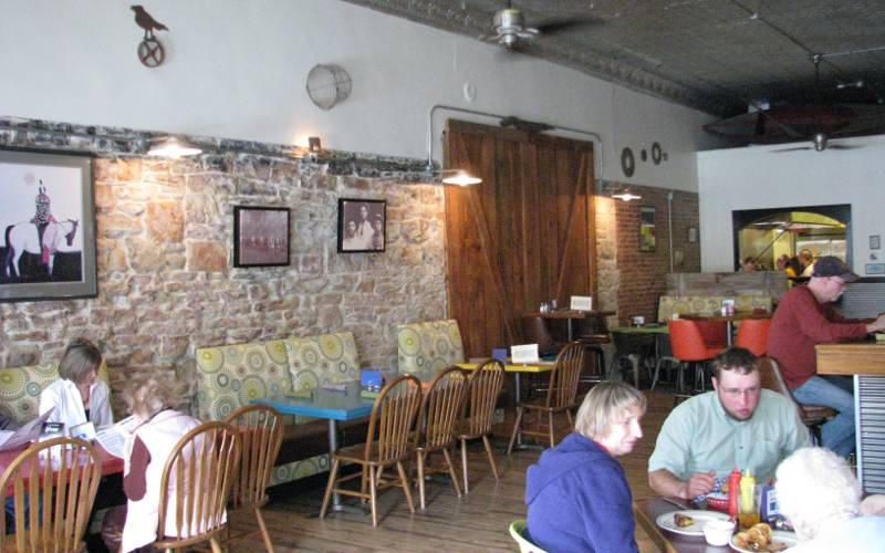 Ad Astra dining room - Strong City, Kansas