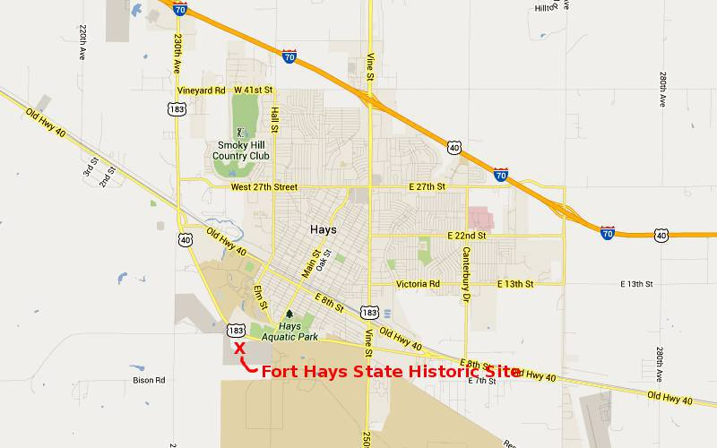 Fort Hays State Historic Site Hays Kansas