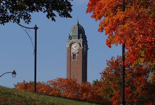 Grant Hall Tower - Fort Leavenworth, Kansas