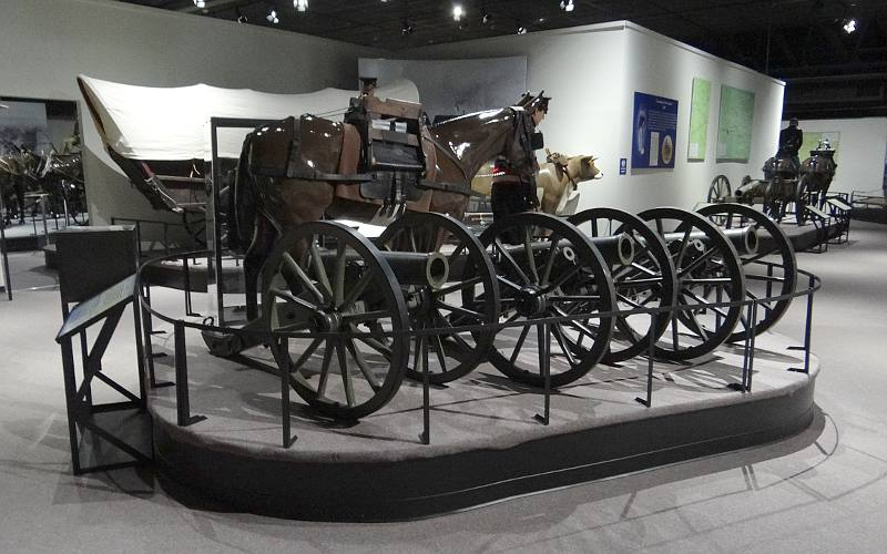 Mountain Howitzers - Fort Leavenworth Frontier Army Museum
