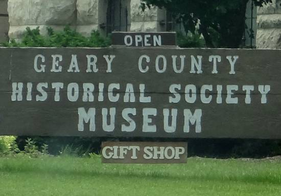 Geary County Historical Museum - Junction City, Kansas
