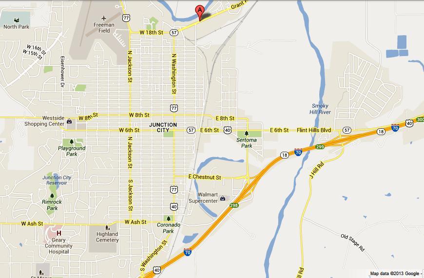 Junction City Kansas Map.Korean Garden Junction City Kansas