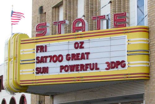 State Theatre - Larned, Kansas