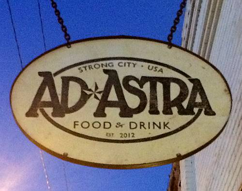 Ad Astra Food and Drink - Strong City, Kansas