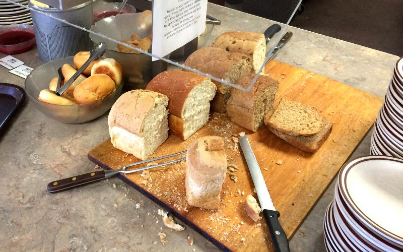 German breads at the Breadbasket Bakery