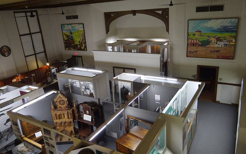 Ellis County Historical Society Museum exhibits