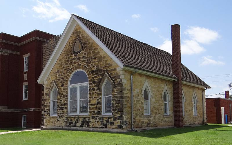 Ellis County Stone Church