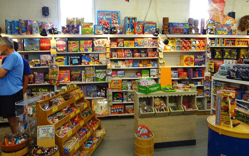 Games and small toys at Moon Marble in Bonner Springs