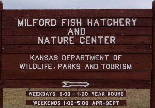 Milford Fist Hatchery and Nature Center - Junction City, Kansas