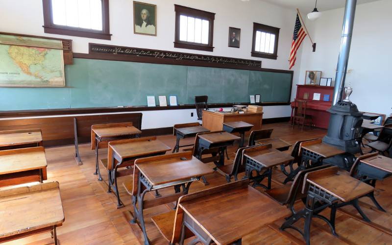 Honey Valley schoolroom
