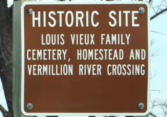 Vieux Cemetery and Homestead - Louisville, Kansas