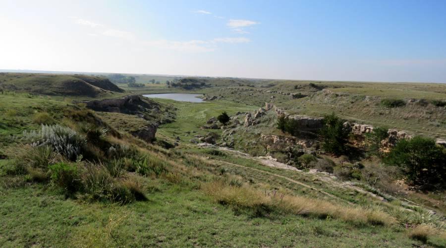 Battle Canyon - Scott County, Kansas