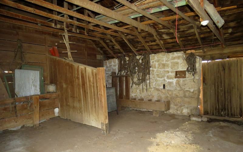 Stable at Cottonwood Ranch - Studley, Kansas