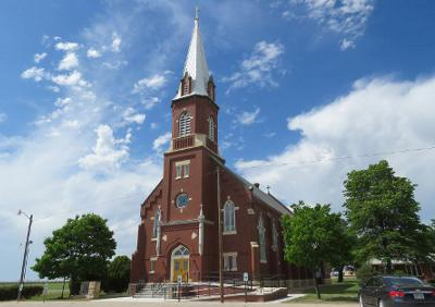 Immaculate Conception Catholic Church - Danville, Kansas