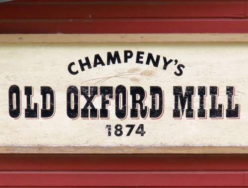 Champeny's Old Oxford Mill - Oxford, Kansas
