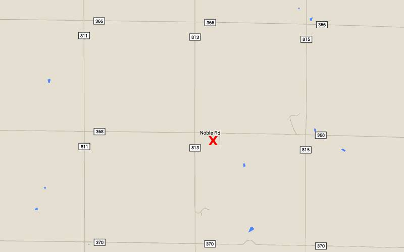 St. Joseph Catholic Church map - St. Joseph, Kansas