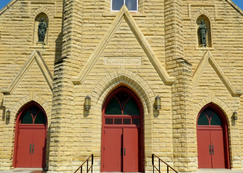 St. Joseph's Catholic Church - Liebenthal, Kansas
