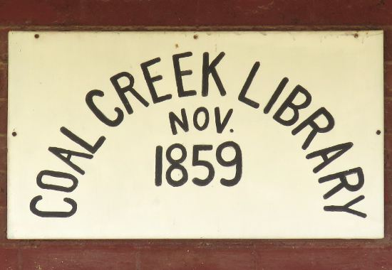Coal Creek Library - Vinland, Kansas