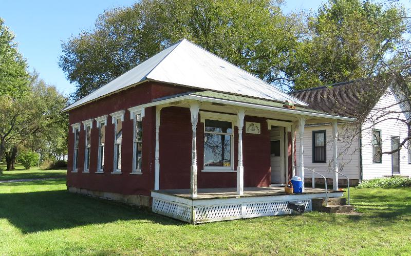 Coal Creek Library - Baldwin CIty, Kansas