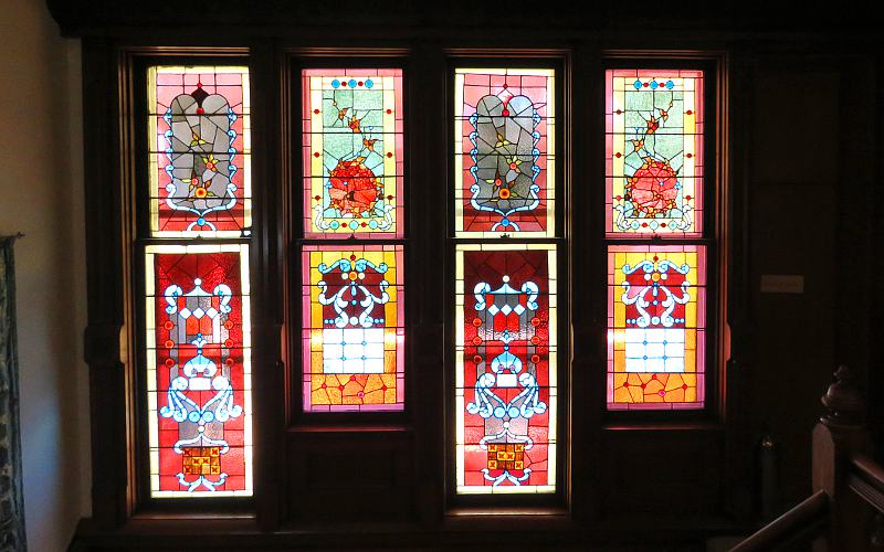 Muchnic Gallery stained glass windows