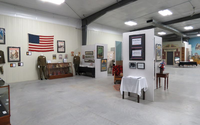Trego County Historical Musuem new addition