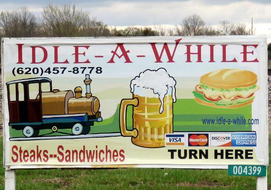 Idle-a-While Bar & Grill - Cherokee, Kansas