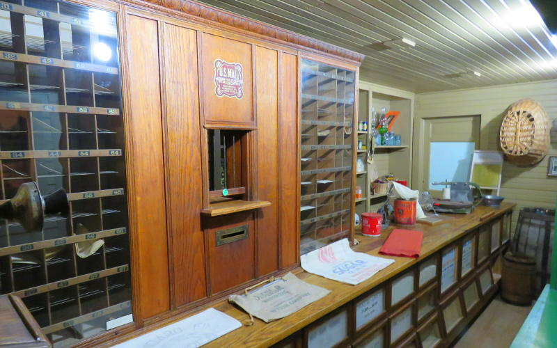 Shields post office - Lane County Historical Museum