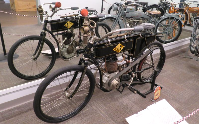 Orient Motorcycle - St. Francis Motorcycle Museum