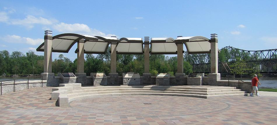 Lewis and Clark Pavilion in Atchison, Kansas