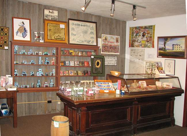 Museum gift shop