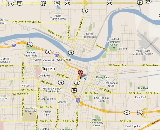 Map Of Topeka Kansas Submited Images  Pic2Fly